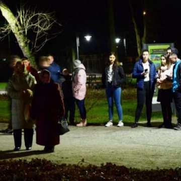 Zabawa sylwestrowa w parku Świętojańskim