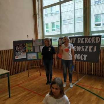 Bicie Rekordu w Pierwszej Pomocy w PSP w Kamieńsku