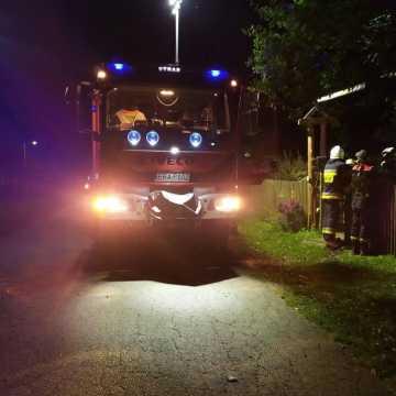 Wola Życińska: pijany mężczyzna chciał się podpalić