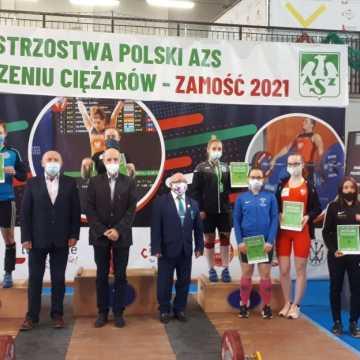 Mistrzowie Polski w podnoszeniu ciężarów z UMLKS Radomsko