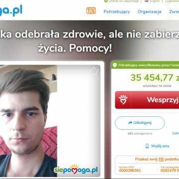 Absolwent ZSE-E, Rafał Kępa, prosi o pomoc w walce z chorobą