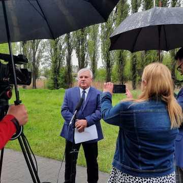 Arkadiusz Ciach chce by w mieście powstała Radomszczańska Trasa Rowerowo-Piesza Nad Rzeką Radomką