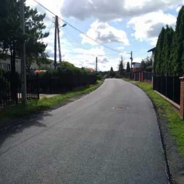 Ulica Ładna z nową nawierzchnią