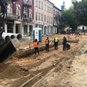 Co zostanie po pracach archeologicznych przy ul. Reymonta w Radomsku?