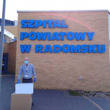 3 000 sztuk maseczek dla szpitala w Radomsku od firmy Cordis Logistic