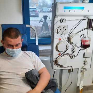 W Radomsku ozdrowieńcy mogą już oddawać osocze dla innych