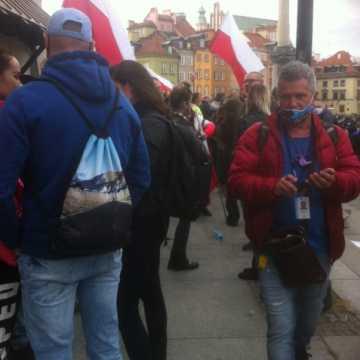 Radomszczanie zatrzymani na Strajku Przedsiębiorców w Warszawie