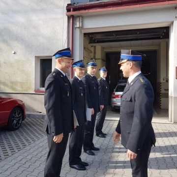 Zmiany w kierownictwie JRG KP PSP w Radomsku