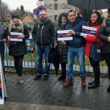 Wybory prezydenckie 2020. W Radomsku PO zbierała podpisy na rzecz Małgorzaty Kidawy–Błońskiej