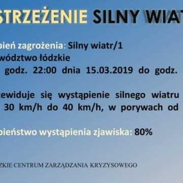 Będzie mocno wiało, nawet do 90 km/h!
