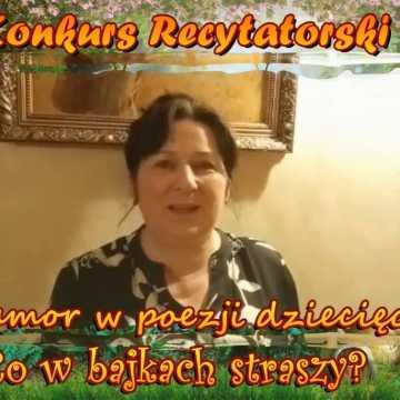 """PSP nr 8 w Radomsku zaprasza do konkursu: """"Humor w poezji dziecięcej - Co w bajkach straszy"""""""