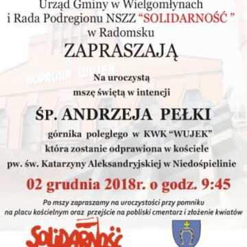 Msza św. w intencji śp. Andrzeja Pełki