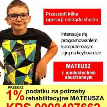Charytatywny koncert dla Mateusza