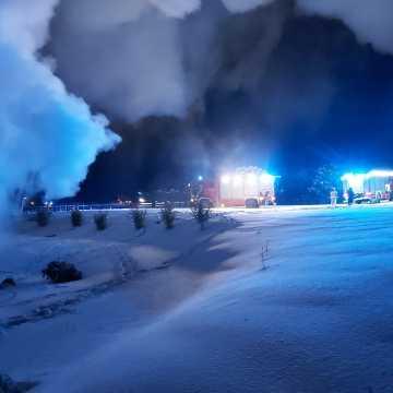 Pożar w centrum Dojo. 400 tys. złotych strat