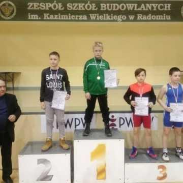 Zapaśnicy ZKS Radomsko z medalami