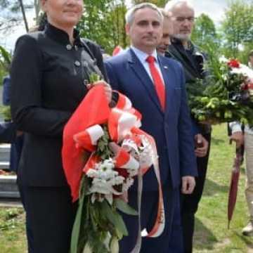 Uroczystości w Bąkowej Górze - oddano hołd Żołnierzom Wyklętym
