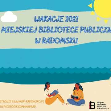 Wakacyjne atrakcje w Miejskiej Bibliotece Publicznej w Radomsku