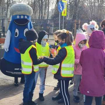 Komisarz Błysk uczył młodych radomszczan