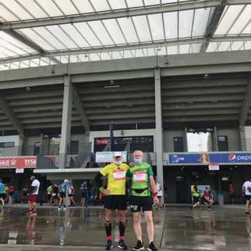 Irek Staszczyk ukończył półmaraton z czasem 1:50:09!