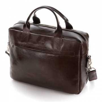 Skórzane męskie torby na ramię: jaka najlepsza do pracy?