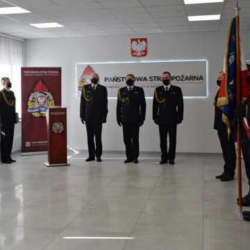 Zastępca komendanta PSP w Radomsku przeszedł na emeryturę