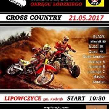 Cross Country w Lipowczycach przełożony na maj