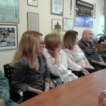 Nauczyciele z Radomska w Kiryat Bialik