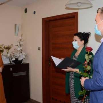 Zawodowy awans nauczycielki SOSW w Radomsku