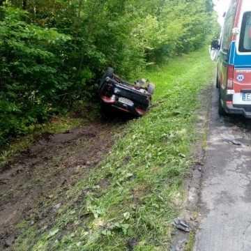 Wypadek na drodze do Gidel