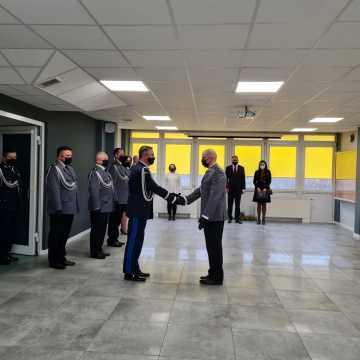 Robert Baryła objął stanowisko komendanta KPP w Radomsku
