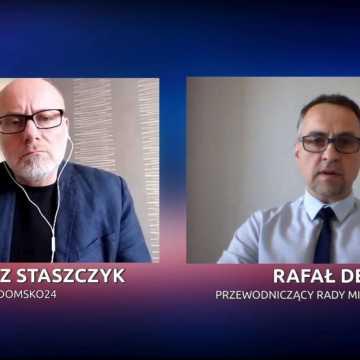 Staszczyk niezależnie. Rafał Dębski: Najważniejszą rzeczą jest pomóc radomszczanom