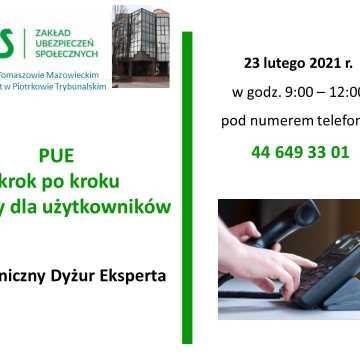 ZUS zaprasza do korzystania z porad ekspertów w czasie dyżurów telefonicznych