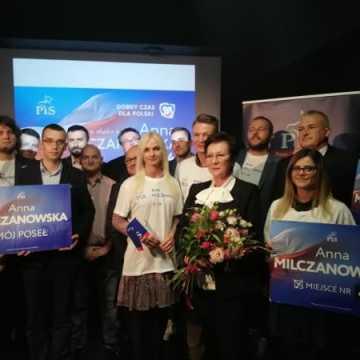 Spotkanie i z wyborcami i podziękowania od Anny Milczanowskiej