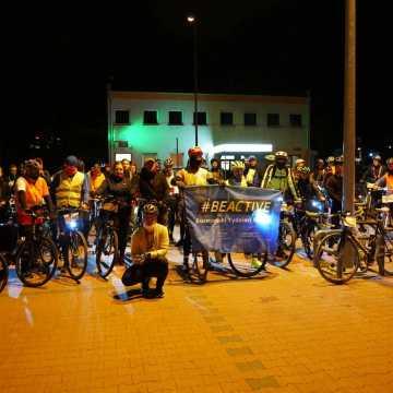 Nocą na rowerze po powiecie radomszczańskim