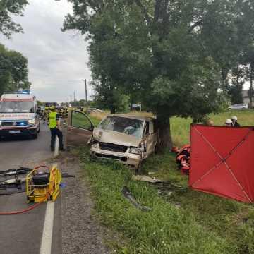Śmiertelny wypadek w Jedlnie Pierwszym. Nie żyje 74-letni kierowca