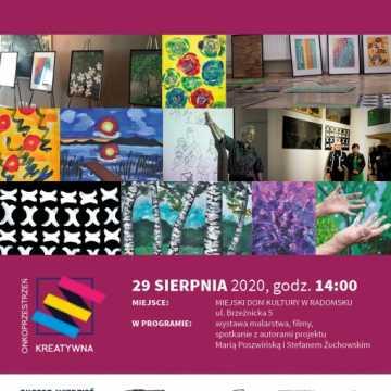 Onkoprzestrzeń kreatywna w MDK Radomsko – wystawa i spotkanie
