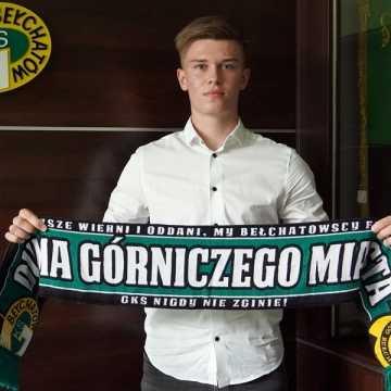 Mateusz Kempski z Radomska podpisał kontrakt z GKS-em Bełchatów