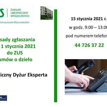 Obowiązek rejestracji umów o dzieło. Telefoniczny dyżur eksperta ZUS
