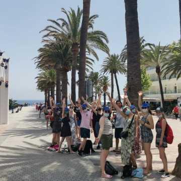 """Uczniowie """"Ekonomika"""" na stażu w Hiszpanii"""
