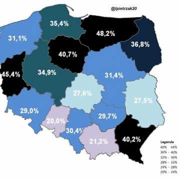 W Łódzkiem odnotowano 1051 zakażeń koronawirusem, w pow. radomszczańskim - 44