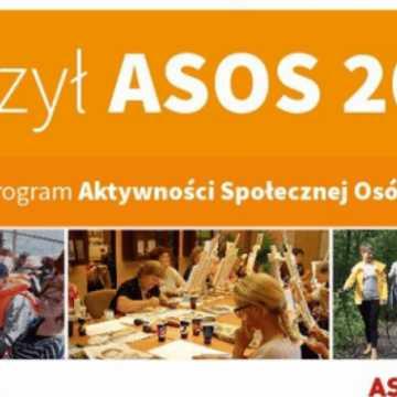 Nabór w programie ASOS 2019