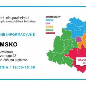 8 mln zł na Budżet Obywatelski woj. łódzkiego