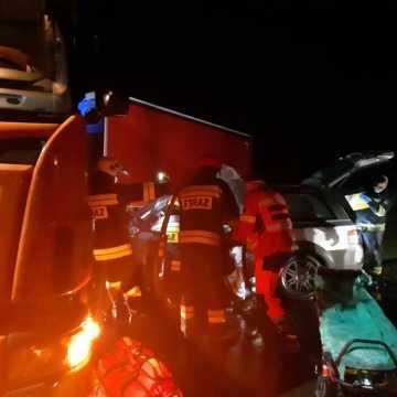 Wypadek w Woli Jedlińskiej. Jedna osoba ranna