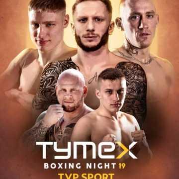 """Robert Parzęczewski na Gali Boksu""""Tymex Boxing Night 19"""""""