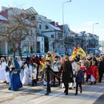 Orszak Trzech Króli 2017 na ulicach Radomska
