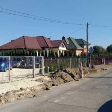 Ulica Skłodowskiej w przebudowie
