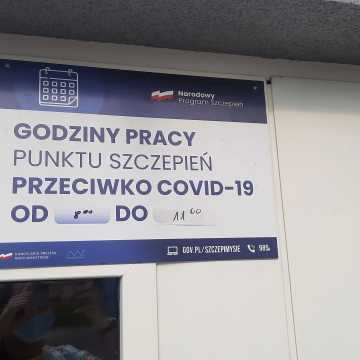 Punkt Szczepień Powszechnych przeciwko COVID-19 w nowej lokalizacji