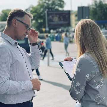 W Radomsku zbierano podpisy pod petycją w sprawie likwidacji TVP Info