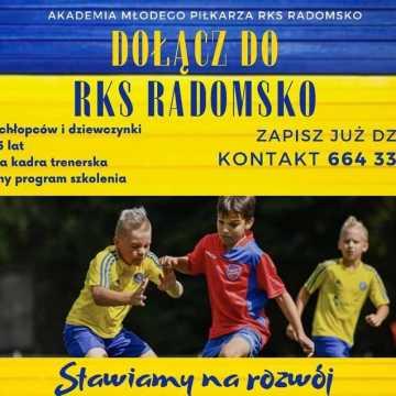 Dołącz do Akademii Młodego Piłkarza RKS Radomsko