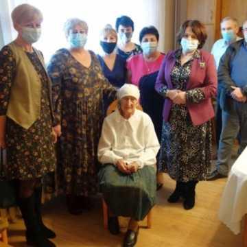Pani Józefa - mieszkanka Rudki świętuje 100. urodziny